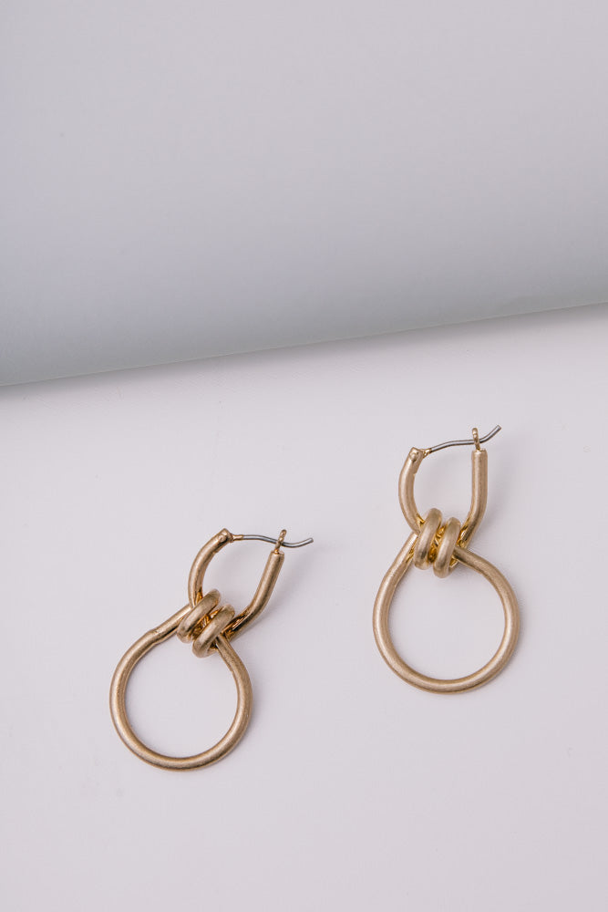 gold earrings bohme