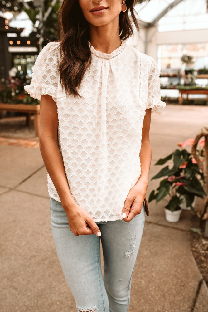 Farrah Patterned Blouse