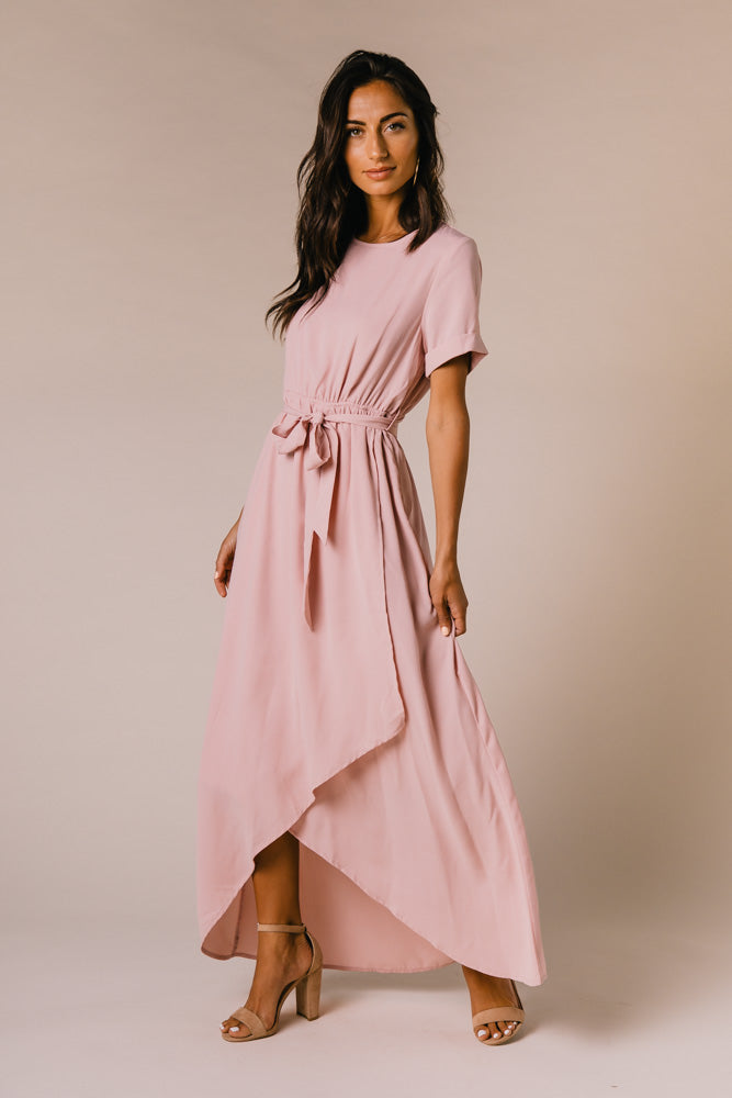 Lyanna Maxi Dress in Mauve