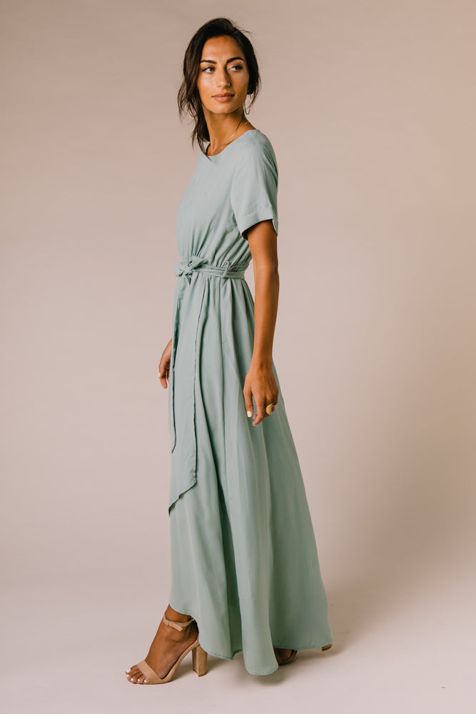 Lyanna Maxi Dress in Sage