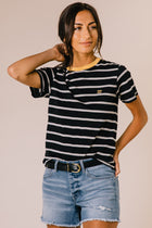Billabong New Soul Babe Tee in Black