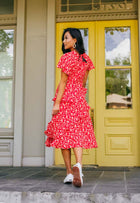 Dana Ruffle Midi Dress