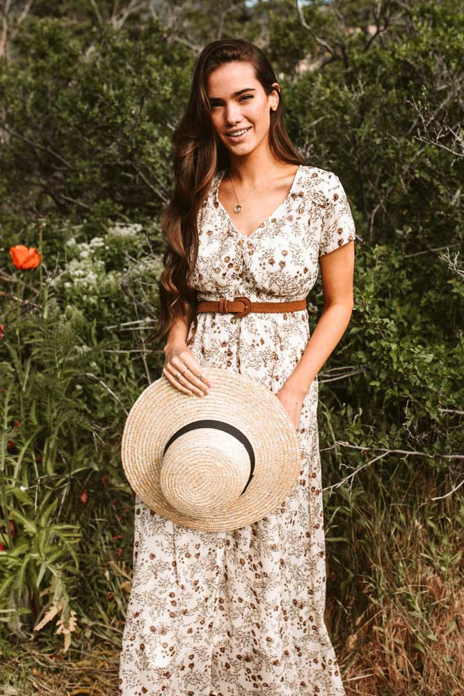 Floral Retreat Maxi Dress
