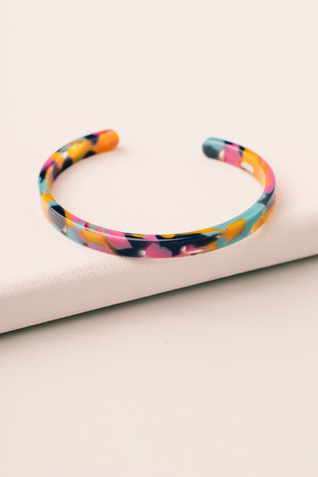 Color Splash Cuff Bracelet