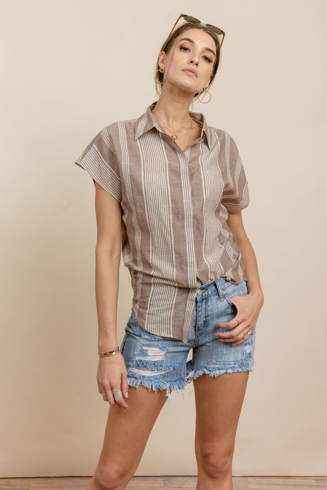 Palo Button Down Top