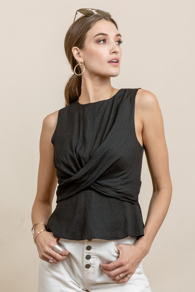 Evelyn Twist Top