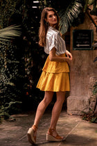Sunny Skies Tiered Skirt - FINAL SALE