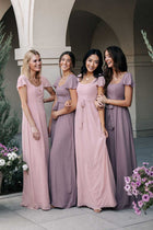 Florence Sweetheart Maxi Dress in Blush