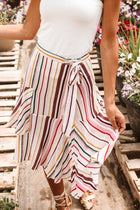Ria Striped Skirt - FINAL SALE