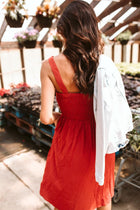 Madrid Smock Midi Dress