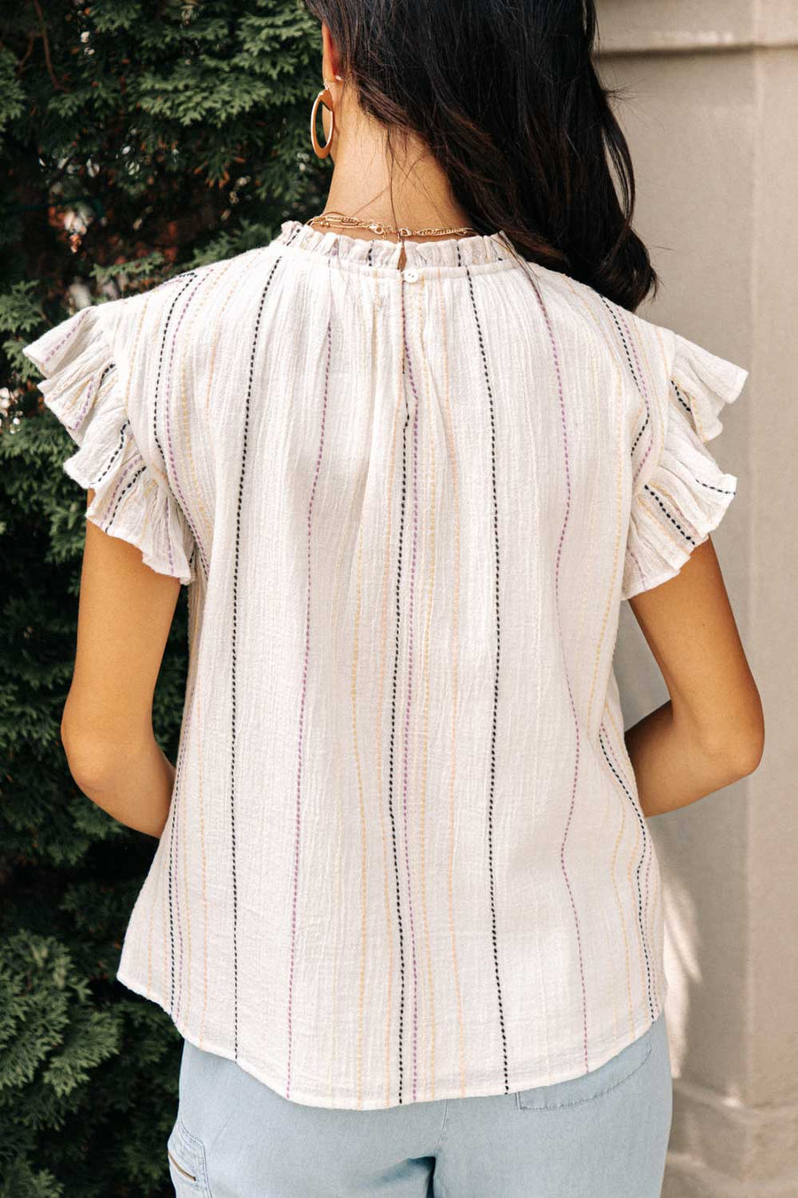 Giselle Detail Stitch Top