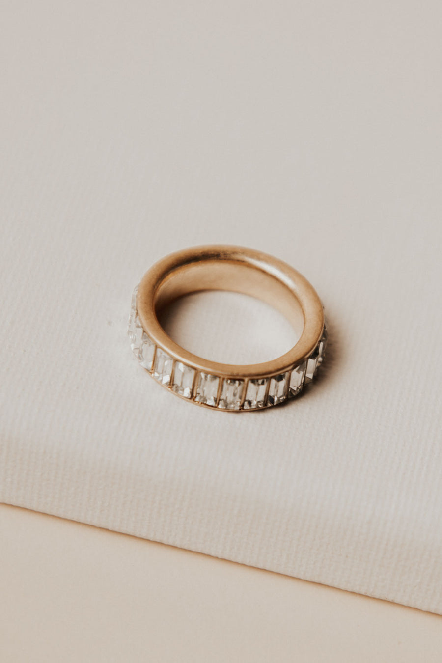 Jeweled Gold Ring