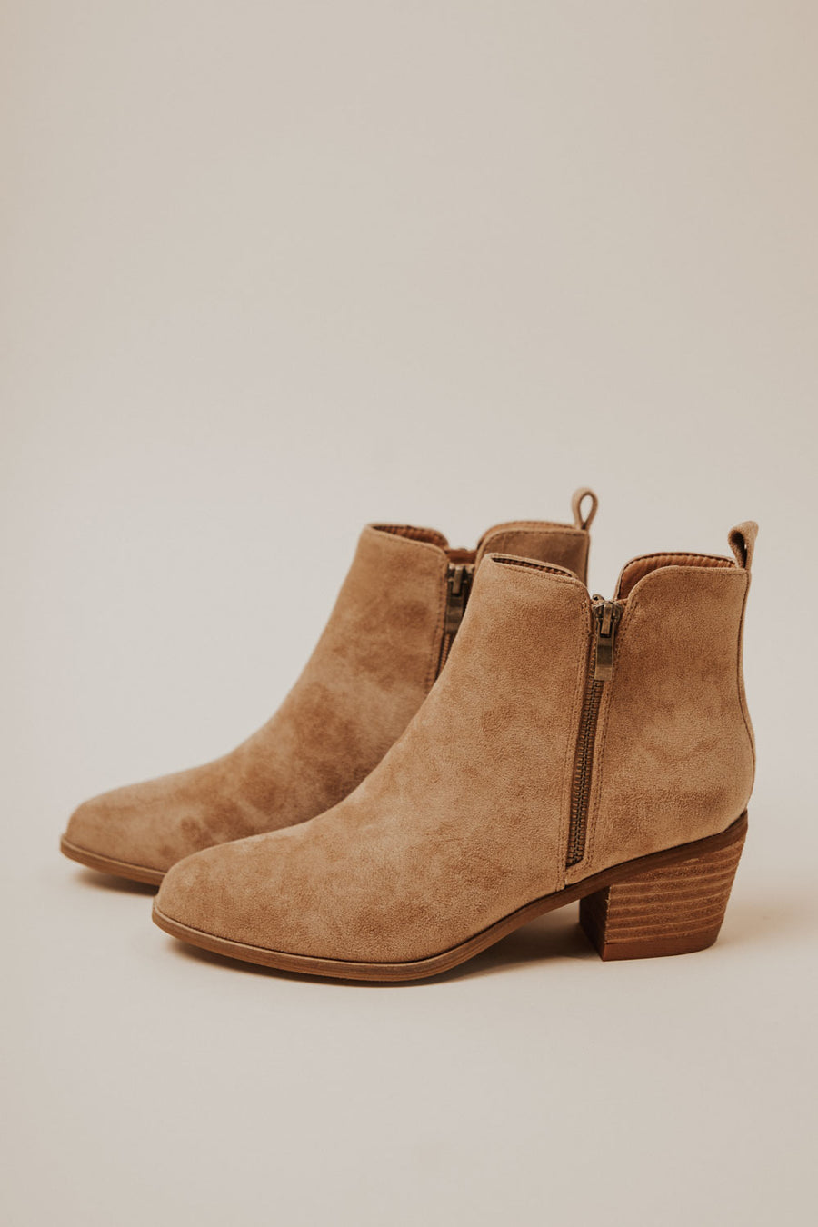Rachel Ankle Boots in Camel