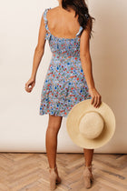 Lucie Floral Mini Dress - Final Sale