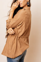 Isley Utility Jacket in Camel
