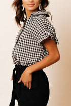 Pepper Gingham Button Down