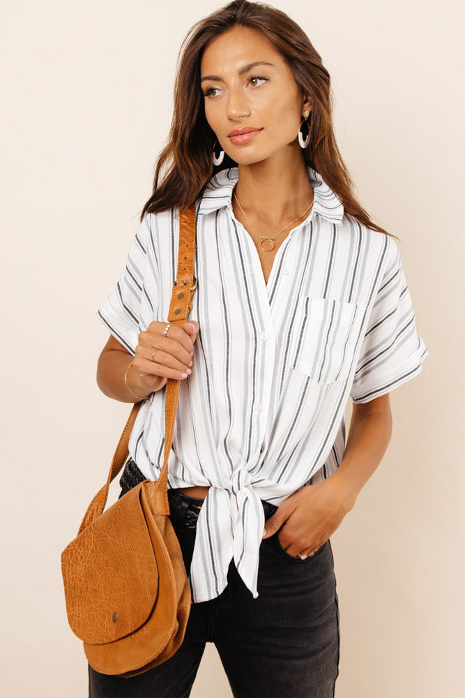 Sloane Tie Button Down