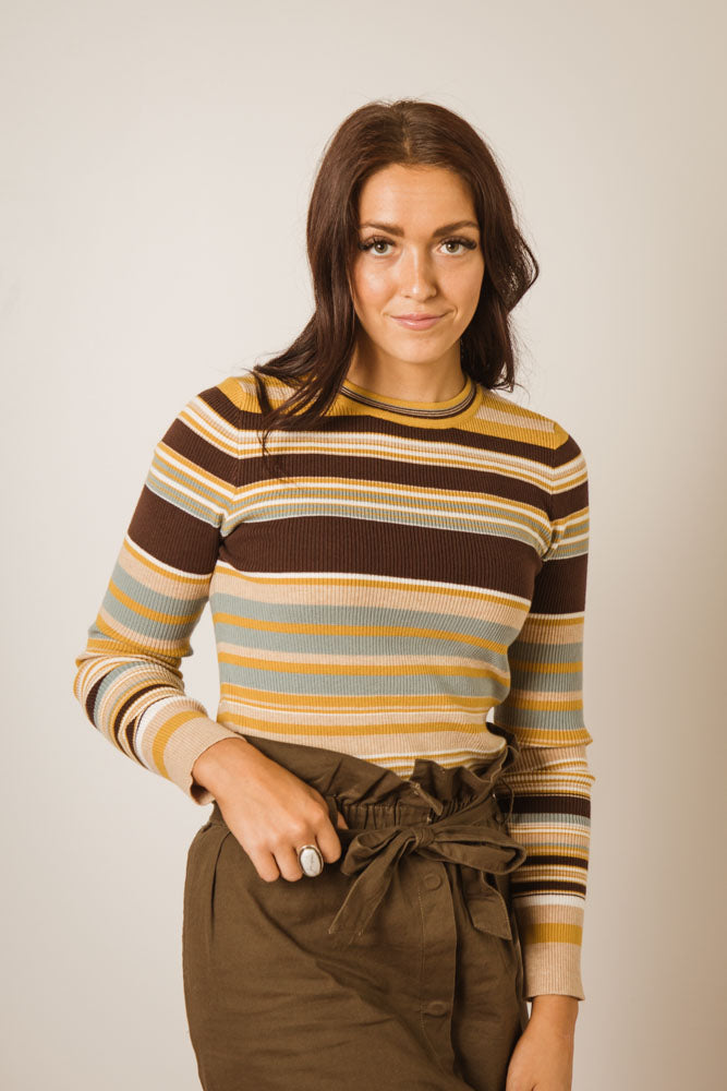 Ashlyn Striped Sweater