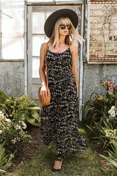 Orchid Field Maxi Dress - Final Sale