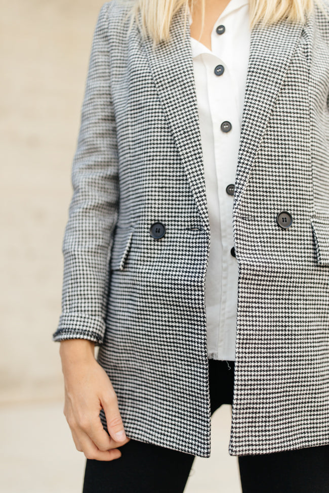 Houndstooth Fall Jacket
