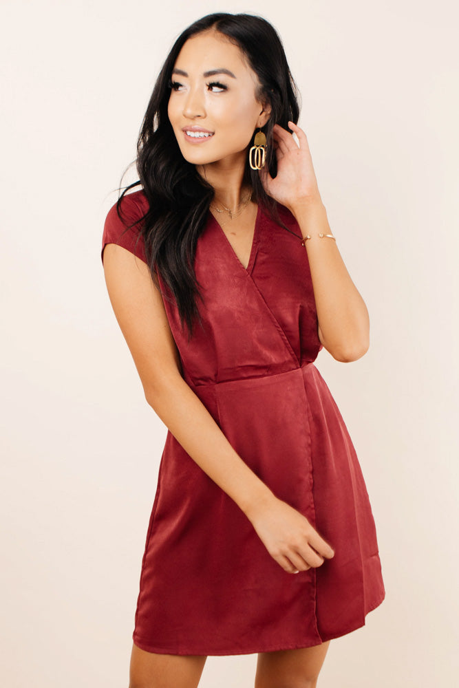 Erin V Neck Dress