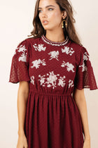Arden Embroidered Dress