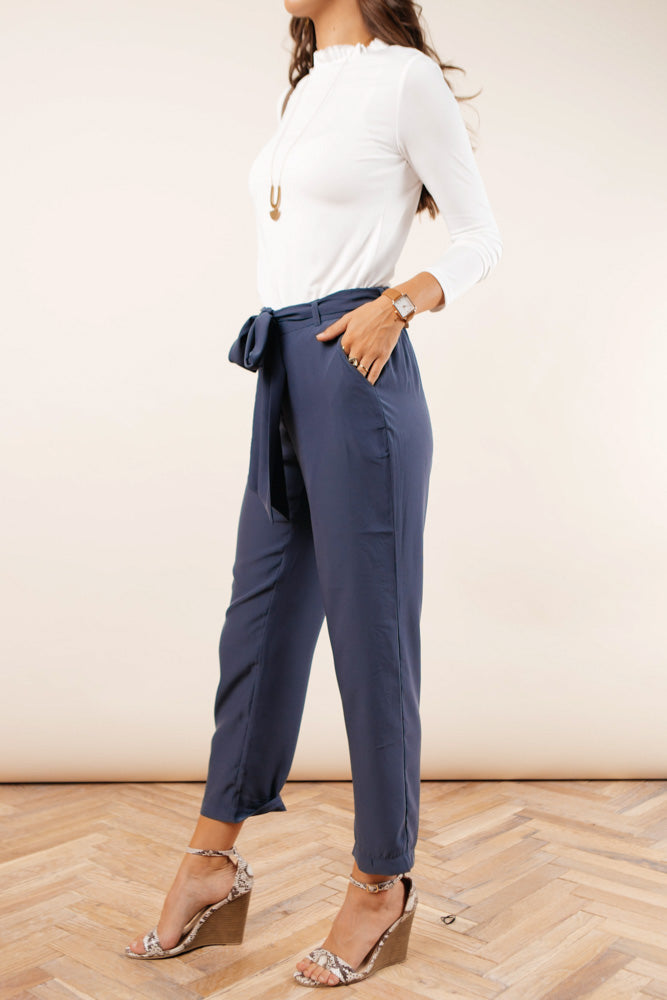 Briar Tapered Pants in Blue-FINAL SALE