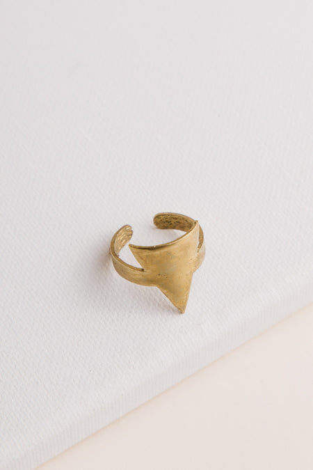 Handmade Triangle Ring