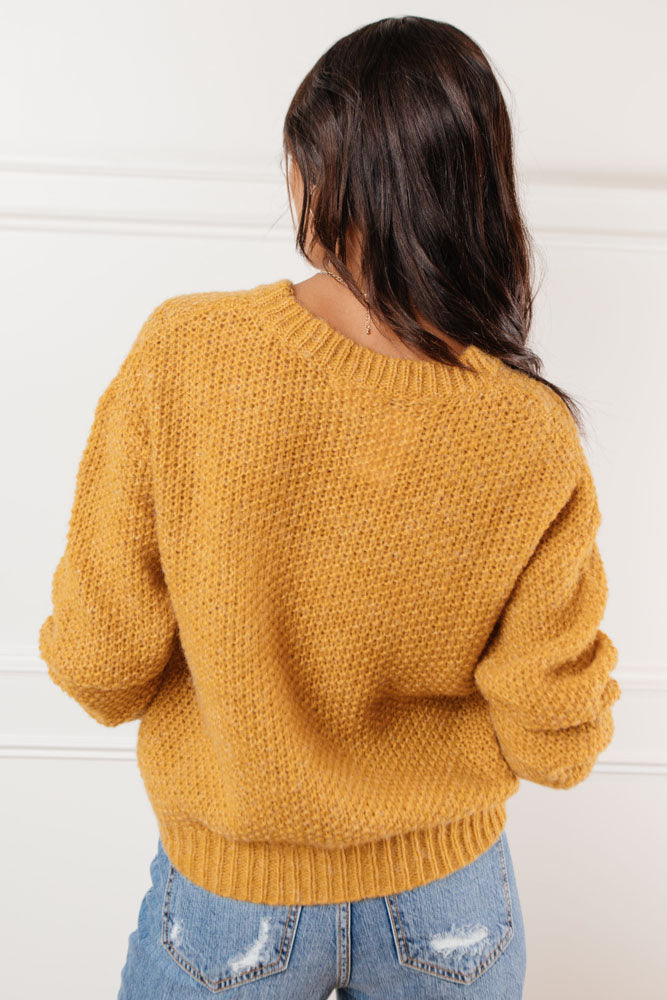 Andi Cable Knit Sweater