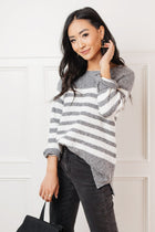 Leah Striped Sweater