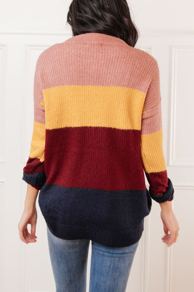 Avery Striped Sweater