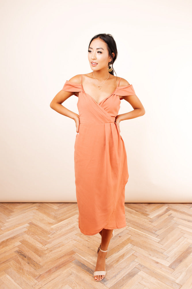 Alena Drop Sleeve Dress