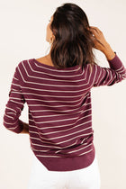Adalyn Striped Sweater