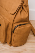 Alexa Utility Backpack in Camel