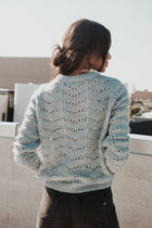 Daria Knit Sweater in Sage