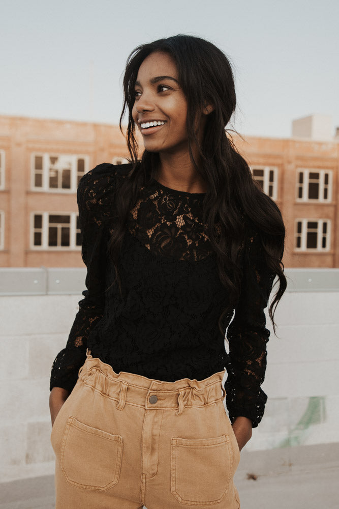 Tess Lace Blouse