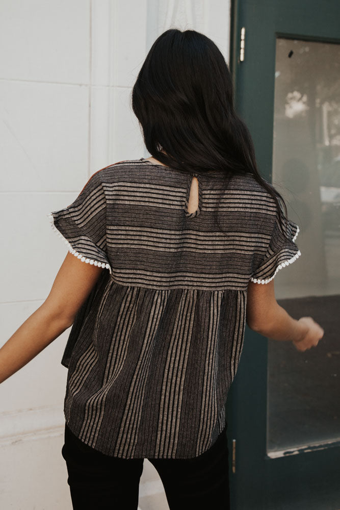 Sheri Striped Blouse