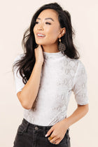 Blaire Snake Print Top - FINAL SALE
