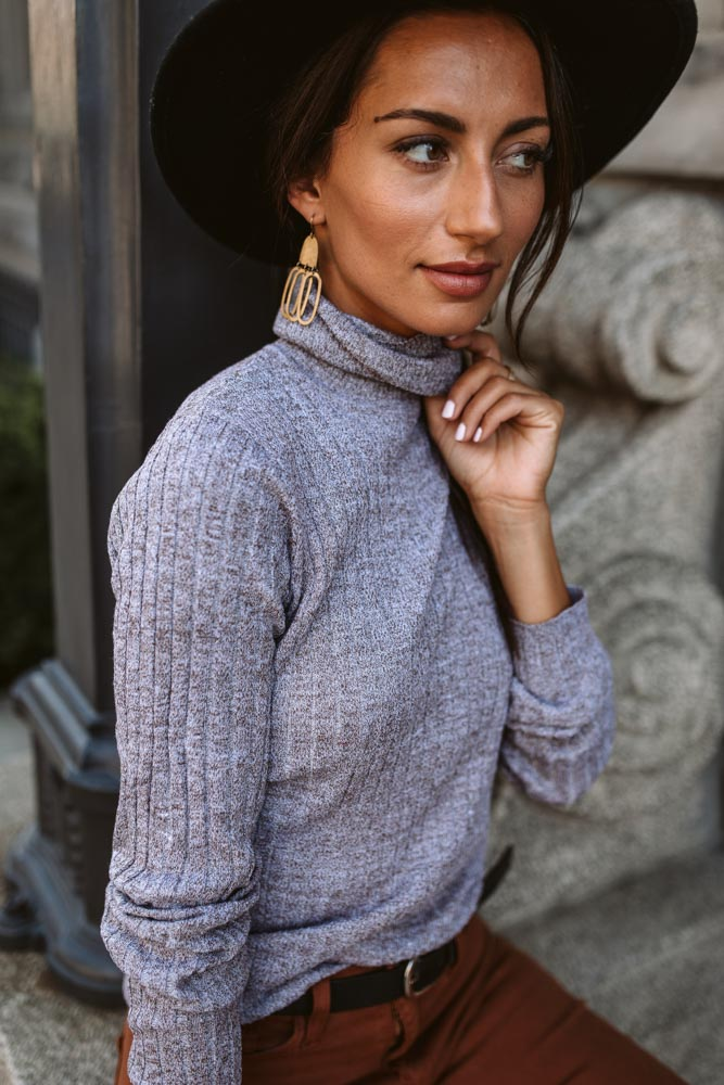 Cece Turtleneck Sweater