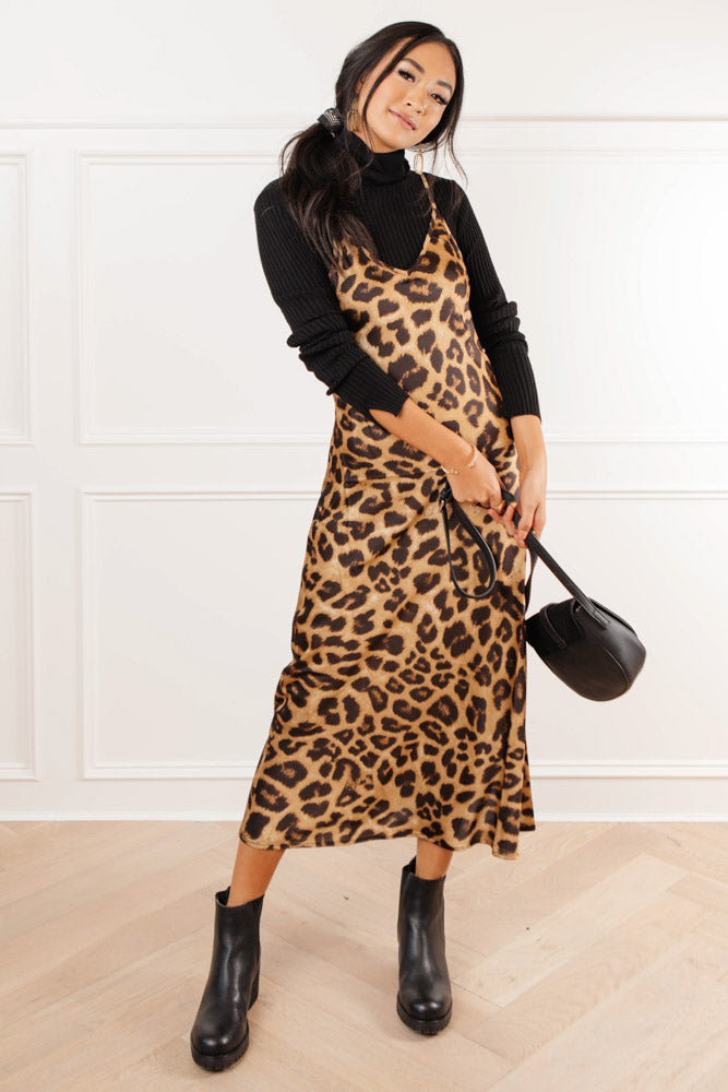 Jocelyn Leopard Print Dress