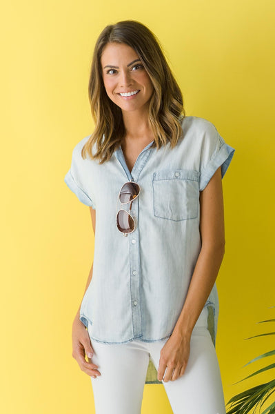 Hooray for Chambray Top