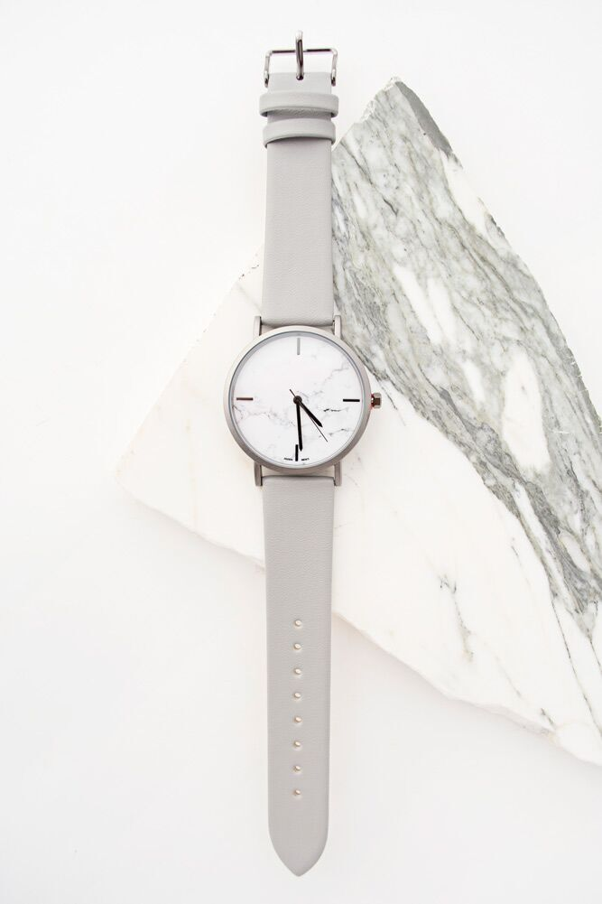 Wasted Time Marble Watch - Bohme