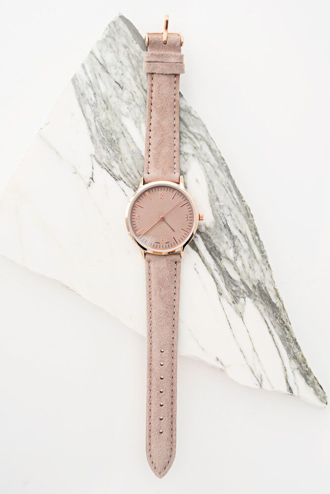 Sophisticated Lady Taupe Watch