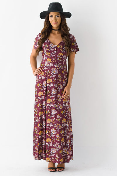 R&R On The Veranda Maxi Dress