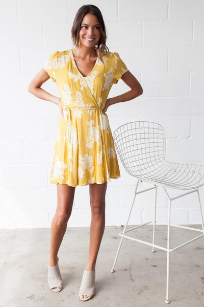 Pineapple Mango Swing Dress