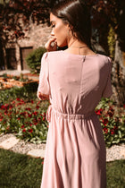 Ema Maxi Dress in Blush