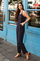 Avery Jumpsuit in Navy