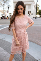 Gabriella Lace Dress