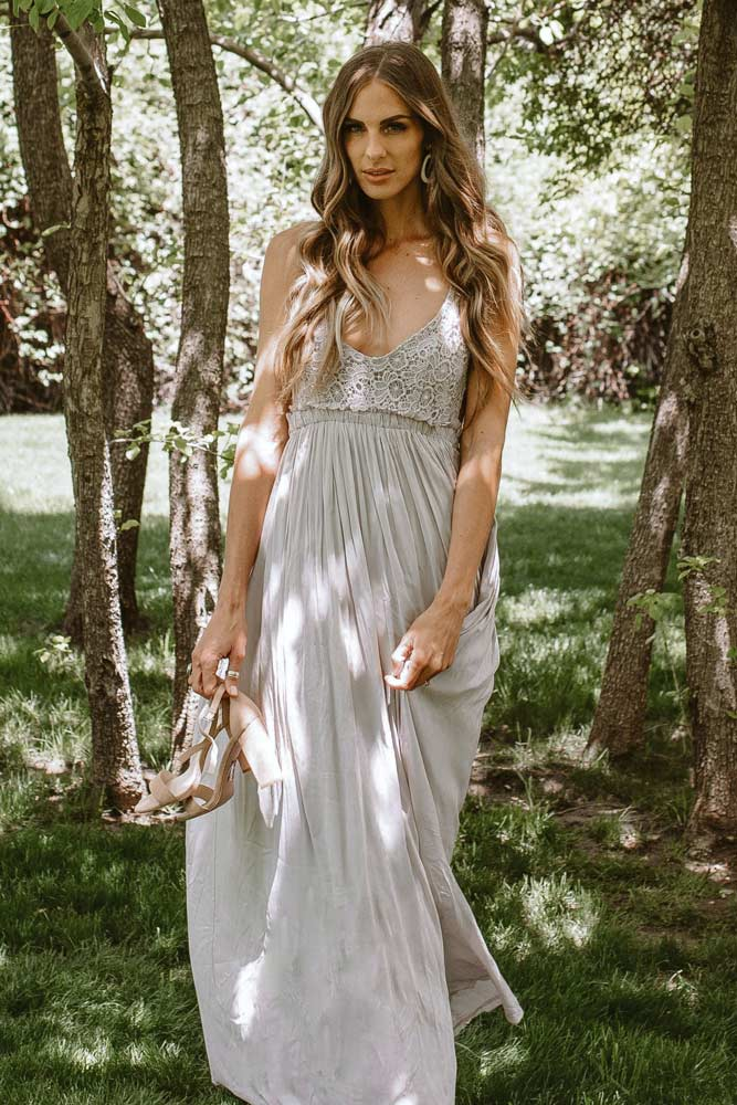 Penny Maxi Dress in Lavender