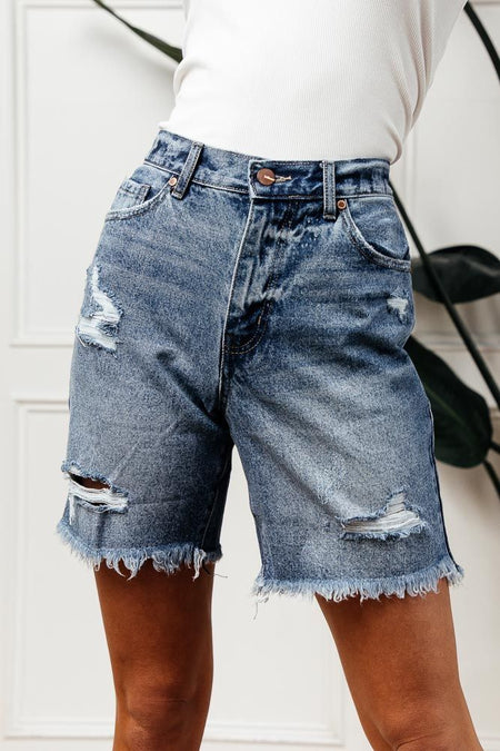 Cooper Distressed Shorts